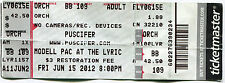 PUSCIFER 6/15/2012 Summer Tour Concert Ticket!! MODELL PAC AT THE LYRIC Seat 109