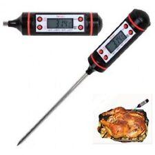 TERMOMETRO DIGITALE CON SONDA DA CUCINA  -50°C A 300°C    °F Key/°C