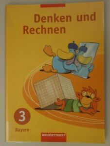 Denken und Rechnen 3. Schülerband, Bayern, Zustand sehr gut, 9783141214833