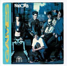 "NEW KIDS On The Block Vinyle 45T SP 7"" GAMES Thé Kids get hard mix CBS 656626"