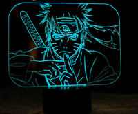 Naruto Shippuden Anime 3D Night Light LED 7 Colour Touch Table Desk Lamp Gift