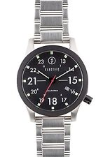 Electric California FW01 SS Watch Silver/Black NEW