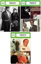 FICHE CINEMA x3 : FERNANDO REY DE 1936 A 1992 -  Espagne (Biographie/Filmo)