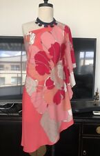 💚 Forever New Summer Half Moon Floral Print Dress ~ size 6 ML04