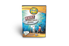 Multiplication DVD Times Tales  Memorize Times Tables +CD Dyslexic Fast!