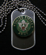 US ARMY VETERAN DOG TAG RETIREMENT CAV INFANTRY AVIATION ARTI GIFT PIN UP WOW