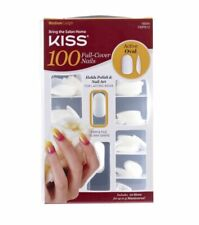 Kiss 100 Full Cover Nails Active Oval 100ps13 Plus Bonus 3 Nail Polishes