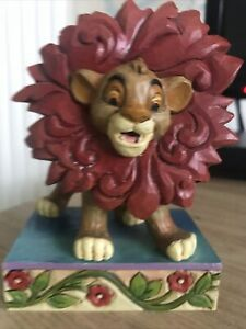 """Disney Showcase Traditions #4032861 Simba """"Just can't wait to be King"""". Exc Con"""