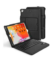 iPad 9.7 Keyboard Case - Detachable Keyboard Case with Pencil Holder, Auto...