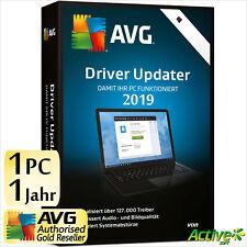 AVG Driver Updater 2019 1 PC 1 Jahr   VOLLVERSION / Upgrade   Treiber DE-Lizenz