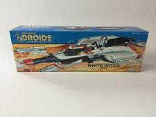 vintage star wars custom prototype droids white witch box