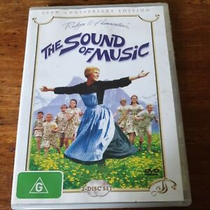 The Sound of Music DVD 40th Anniversary Edition R4 Like New! FREE POST