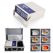 Ion Cleanser Ionic Detox Foot Spa Fussbad Maschine LED Display Fußelektrolysebad
