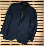 Mens Blazer Jacket Two Button Ermenegildo Zegna Blue Size 44R John Lewis Wool