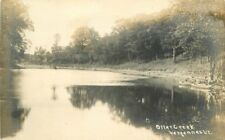 1920s Otter Creek Vergennes Vermont Rppc real photo postcard 9380