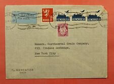 Dr Who 1946 Norway Oslo Airmail To Usa C227784