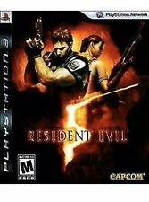 Resident Evil 5 PlayStation 3 PS3 Game Complete V Greatest Hits