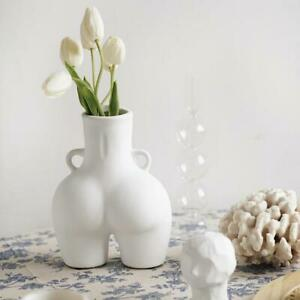 Vase Human Body Bum Nude Abstract Flower Vase Home Decoration 2 Colours
