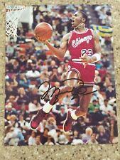 Michael Jordan 1980's Signed Autographed Photo - Chicago Bulls