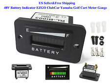 US 48V Battery Indicator 48 Volt EZGO ClubCar Yamaha Golf Cart Meter Gauge New
