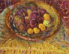 Pierre Bonnard Peaches On A Plate On A Chair Canvas Print 16 x 20   # 6334