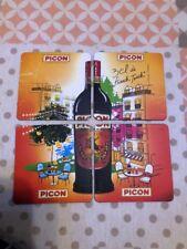 4 Sous Bock Magnétique AMER PICON Neuf Vendu Sous Emballage