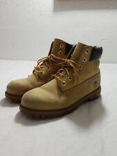 Timberland Boots Stiefel Schnürstiefel Gr.39 UK 6 M Hellbraun Maisgelb Echtleder