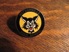 Watsonville Wildcatz Pin - California High School USA Wildcats Mascot Lapel Pin