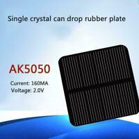 Mini Power Solar Panel Module Systerm DIY For Battery 50*50mm 2V160MA L4V7 S3P0