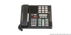 Refurbished Nortel Meridian Norstar M7310 Business Phone NT8B20 Black 7310