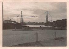 Schwebebrücke über die Loire im Hafen Nantes Frankreich