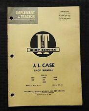 1960 J I CASE 200B 300 300B 350 400B 500B 600B TRACTOR I&T SERVICE REPAIR MANUAL