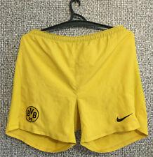 BORUSSIA DORTMUND FC BVB 09 Nike Training Football Soccer Shorts Mens Size L