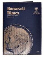 Whitman Harris Roosevelt Dime #1 Folder (1946-1964)