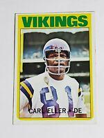 Carl Eller Vikings 1972 Topps #20 NMMT