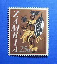 1968 ZAMBIA 25N SCOTT # 47 S.G # 137 UNUSED                              CS23212