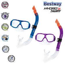 Bestway Kinder 7+ Schnorchelset Hydro-Swim Tauchmaske Schnorchel Taucherbrille