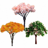 3PCS Mini Tree Miniature Dolls' House Garden Accessory DIY Plant Fairy Ornament