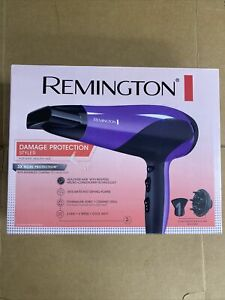 Remington D3190 Damage Protection Hair Dryer W/ Concentrator/Diffuser