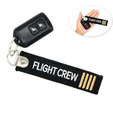 Embroidery keychain for aviation gift Keychain car men Aircraft key chain