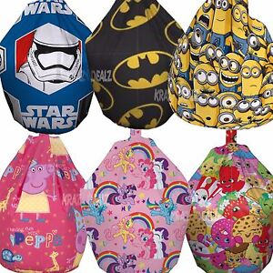 Official Licensed 3ft Bean Bag Filled Minions Paw Patrol Batman Boys Girls Gift