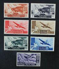 CKStamps: Italian Colonies Stamps Collection Scott#C13-C19 Mint H OG