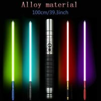 Lightsaber Jedi Sith Luke Force Rechargeable Color Cosplay Metal Handle Sound