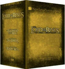 The Lord Of The Rings Trilogy: Extended Edition - U.K. Region 2 DVD Box Set