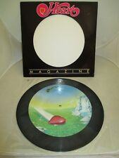 """HEART """"MAGAZINE"""" LIMITED ED 12"""" LP NM PICTURE DISK MUSHROOM 66223/100000"""