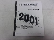 Polaris Snowmobile Parts Manual 2001 700 Xc Sp 9916090