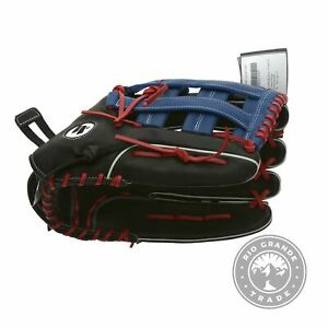 """NEW Worth WXT150-PH-01 XT Extreme 15"""" Slow Pitch Glove in Black / Blue / Red"""