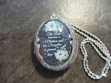 LOCKET THE LOVE BETWEEN A MOTHER AND HER DAUGHTER IS FOREVER TRUE