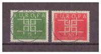 BRD, Europa MiNr. 406 - 407, 1963 used