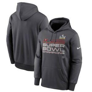 New Nike NFL Tampa Bay Buccaneers Super Bowl LV Champions Hoodie Mens XL $85 NWT
